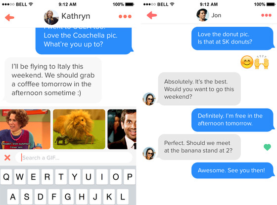 Tinder, New Messaging Features