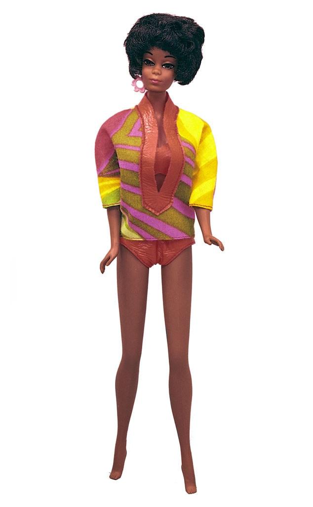 Sweet Roses PJ Barbie Doll Original Dress Ring 1983 Steffie |Christie Barbie Doll