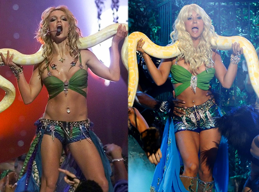Britney Spears, Kaley Cuoco