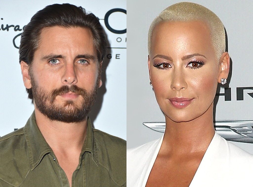 Scott Disick, Amber Rose