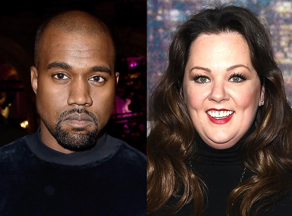 Kanye West, Melissa McCarthy