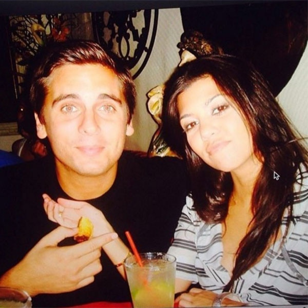 Kourtney Kardashian, Scott Disick, Throwback Photo