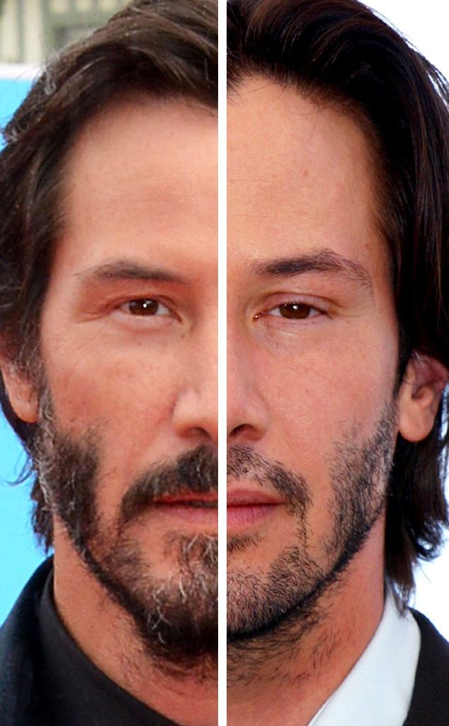 Keanu Reeves, Stars Who Never Age, 12 Year Difference