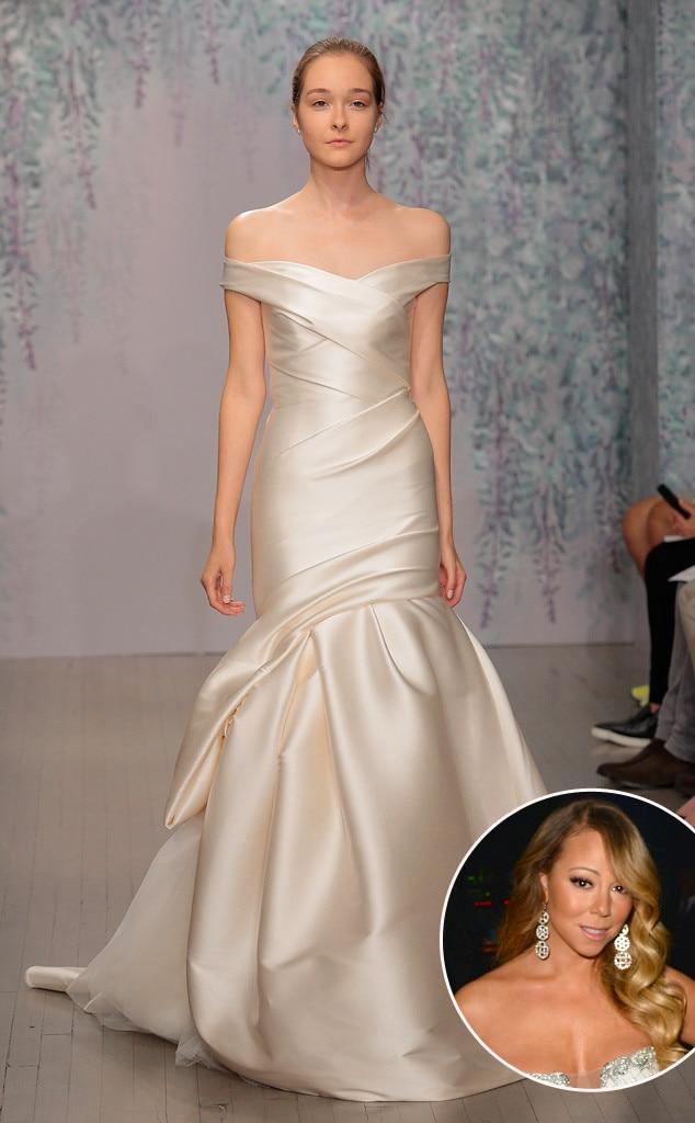 Mariah carey wedding dress pictures