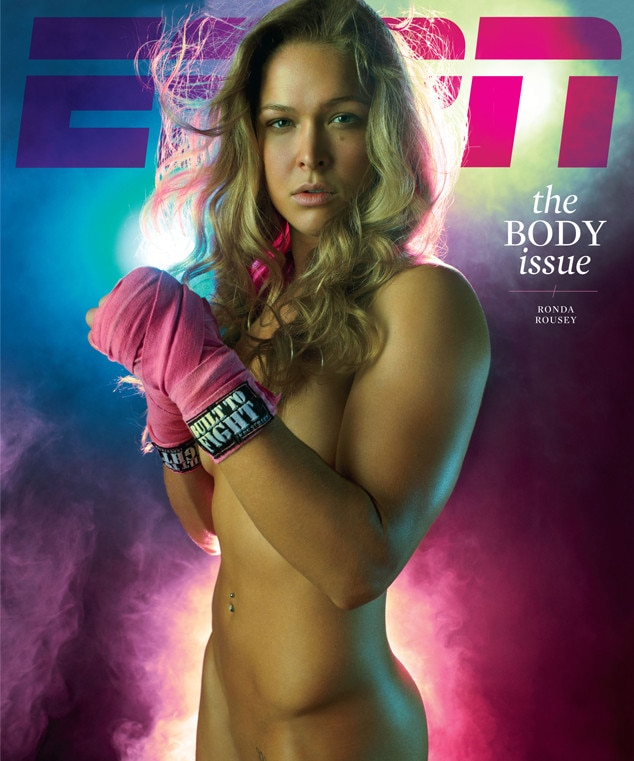 Ronda Rousey, ESPN Body Issue 2012