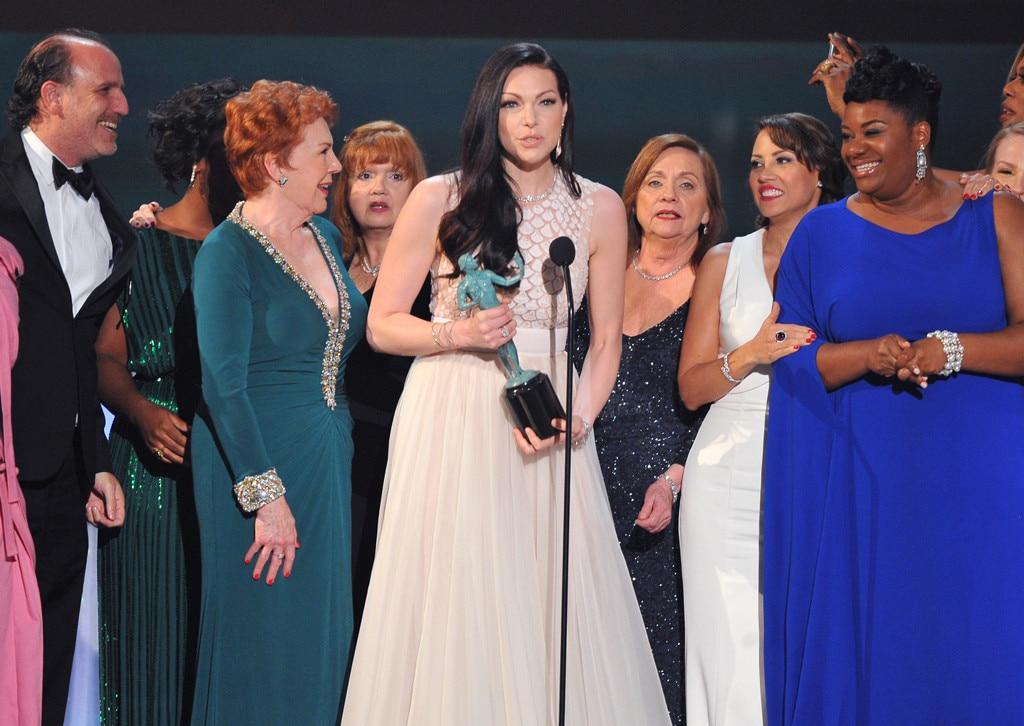 Laura Prepon, OITNB, SAG Awards 2016, Winners