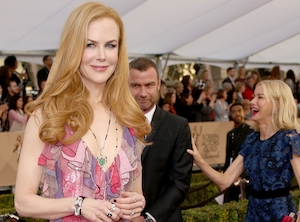 Naomi Watts, Liev Schreiber, Nicole Kidman, SAG Awards 2016, Candids