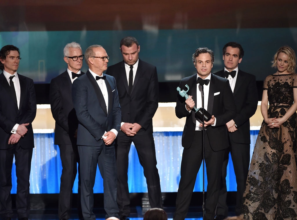 Spotlight Cast, SAG Awards, Winners