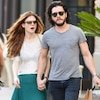 Kit Harington Dressed Up as Jon Snow for a Halloween Party—And It's All Rose Leslie's Fault