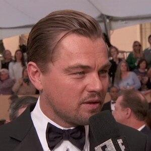 Leonardo DiCaprio, rogue hair, 2016 SAG Awards