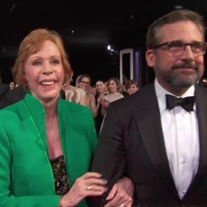 Steve Carell, Carol Burnett, 2016 SAG Awards