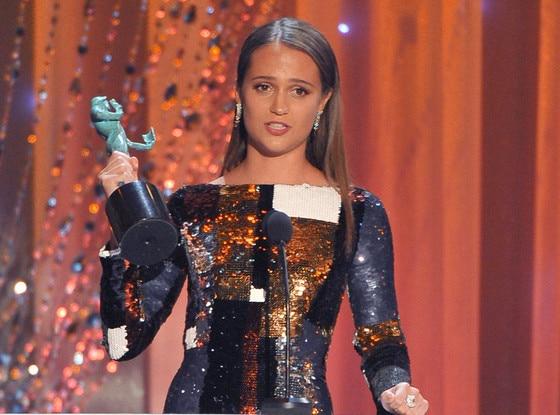 Alicia Vikander, SAG Awards 2016, Winners