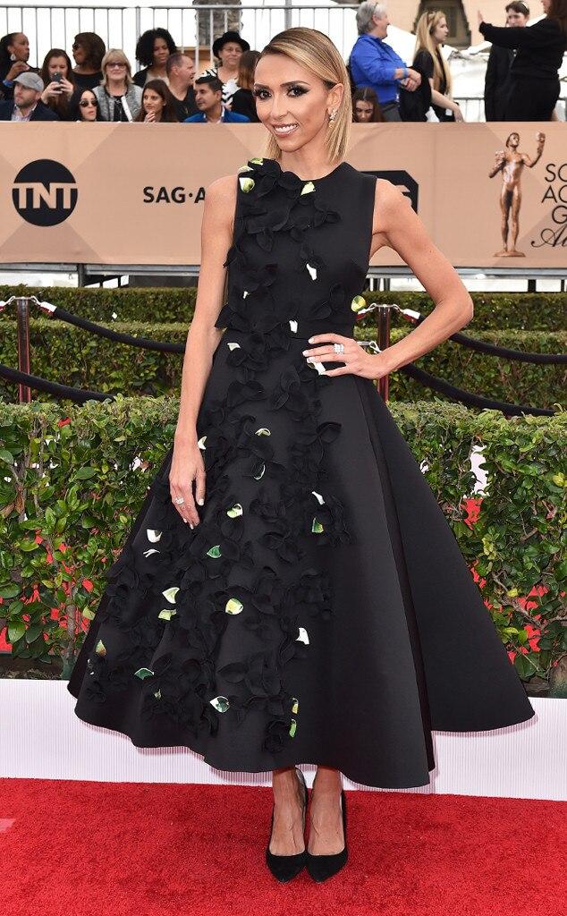 Giuliana Rancic, SAG Awards 2016
