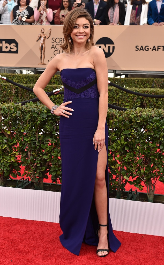 Sarah Hyland, SAG Awards 2016, Arrivals