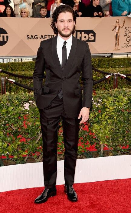 Kit Harington, SAG Awards 2016, Arrivals