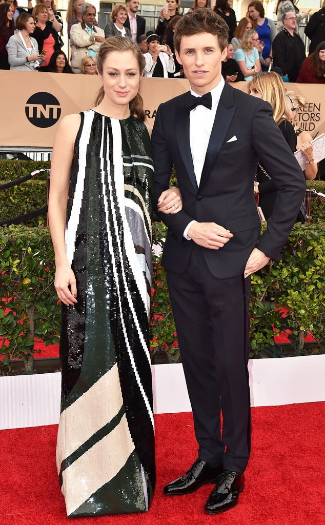 Hannah Bagshawe, Eddie Redmayne, SAG Awards 2016, Couples