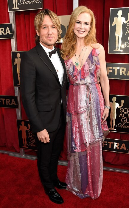 Keith Urban, Nicole Kidman, SAG Awards 2016, Couples
