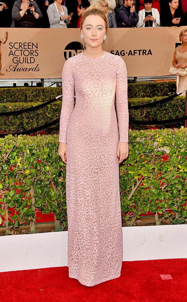 Saoirse Ronan, SAG Awards 2016, Arrivals