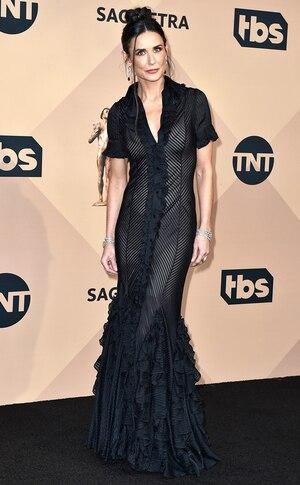 Demi Moore, SAG Awards 2016