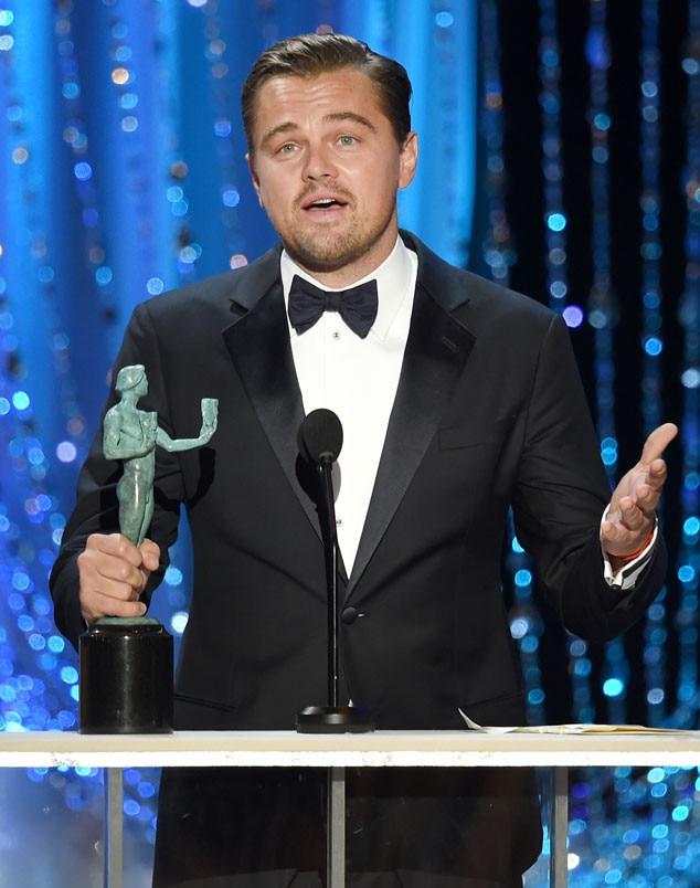 Leonardo DiCaprio, SAG Awards, Winners