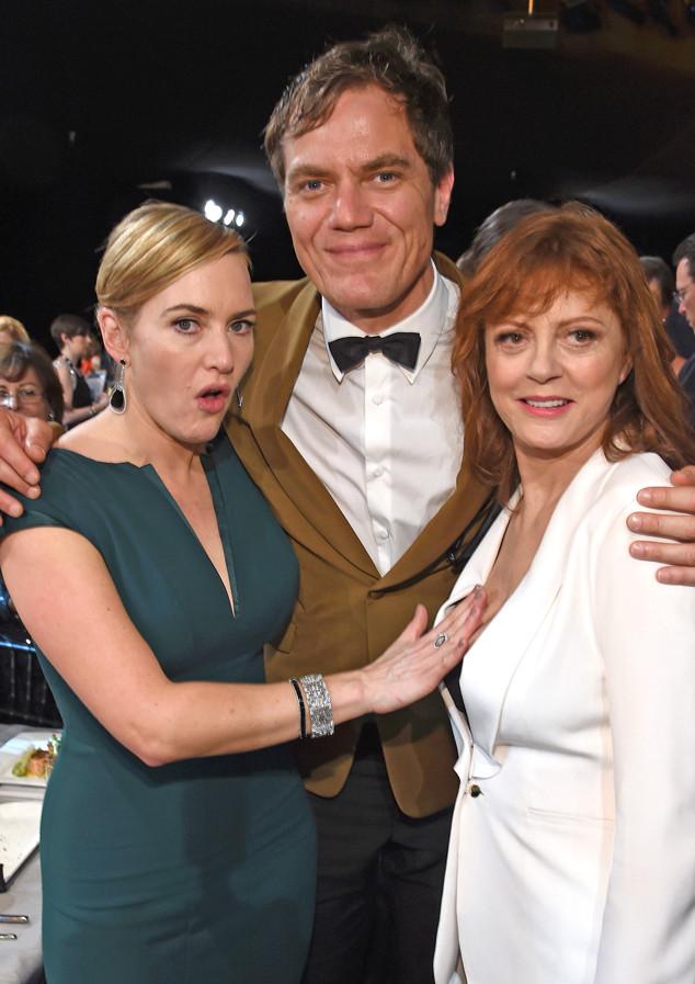 Kate Winslet, Michael Shannon, Susan Sarandon, SAG Awards 2016, Candids