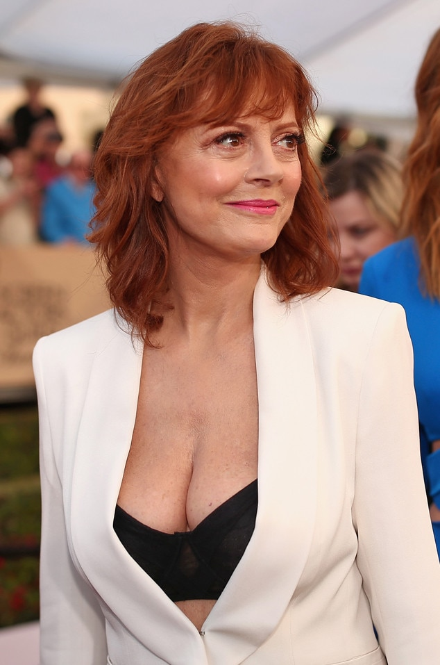 Susan Sarandon, SAG Awards 2016, Arrivals