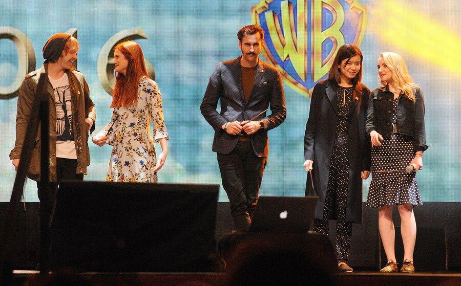 Harry Potter cast, Rupert Grint, Bonnie Wright, Matthew Lewis, Katie Leung, Evanna Lynch