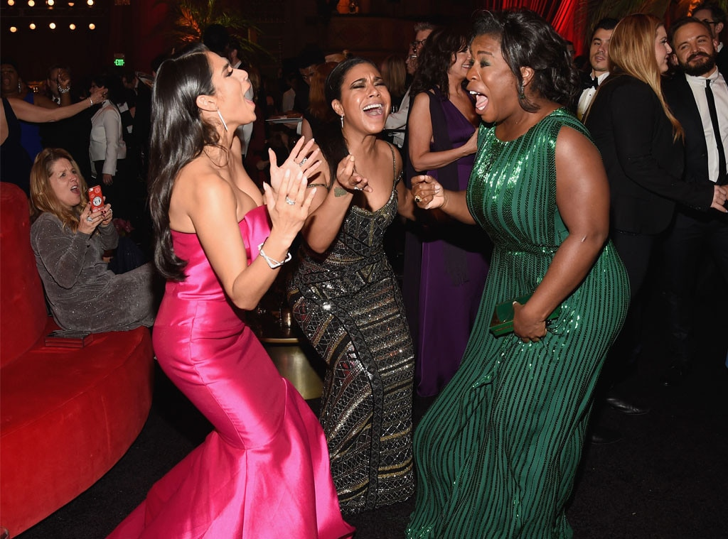 Diane Guerrero, Uzo Aduba, SAG Awards 2016, Party Pics