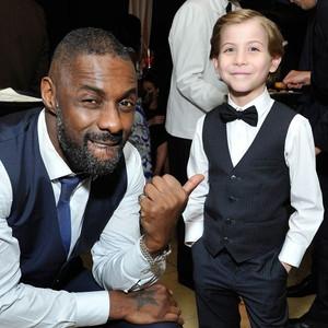 Idris Elba, Jacob Tremblay, SAG Awards 2016, Party Pics