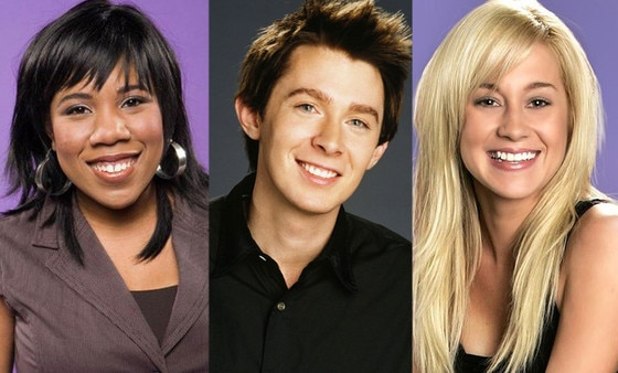 American Idol runners-up, Clay Aiken, Melinda Doolittle, Kellie Pickler