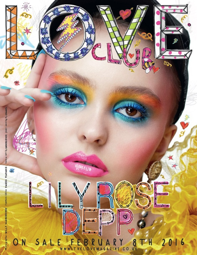 Lily-Rose Depp, LOVE Magazine