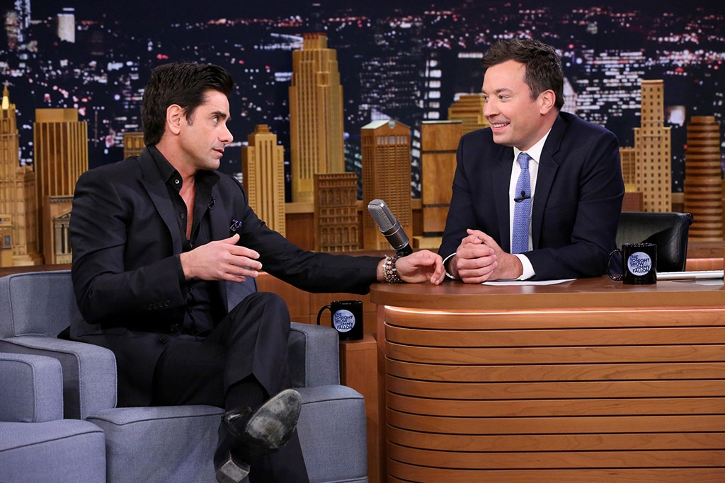 John Stamos, Jimmy Fallon, The Tonight Show