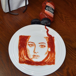 Rob Ferrel Ketchup Art