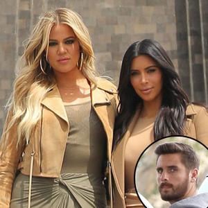 Khloe Kardashian, Kim Kardashian West, Scott Disick