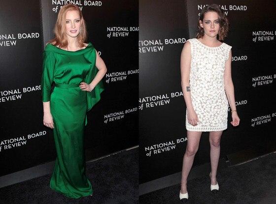 Jessica Chastain, Kristen Stewart