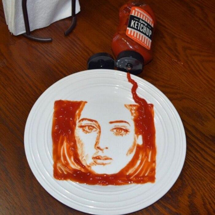 Rob Ferrel Ketchup Art