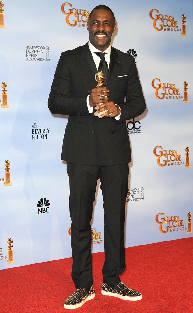 Idris Elba, Golden Globes, 2012
