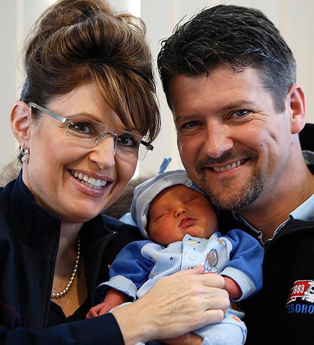 Sarah Palin, Trig Palin, Todd Palin