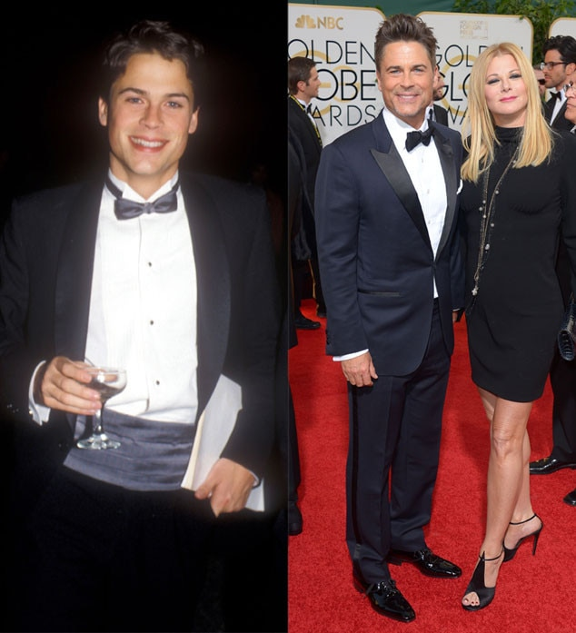 Rob Lowe, Golden Globes, 1984, 2014