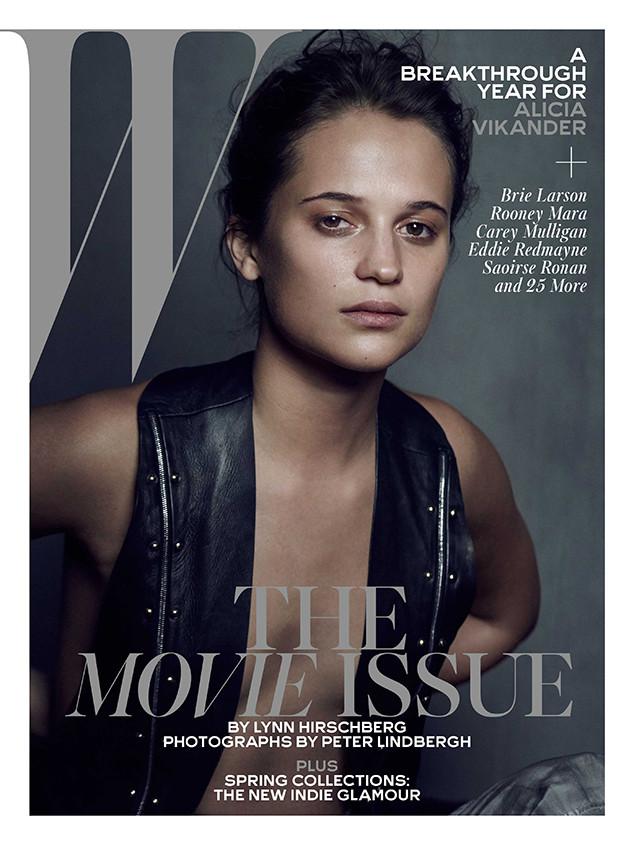 Alicia Vikander, W Magazine