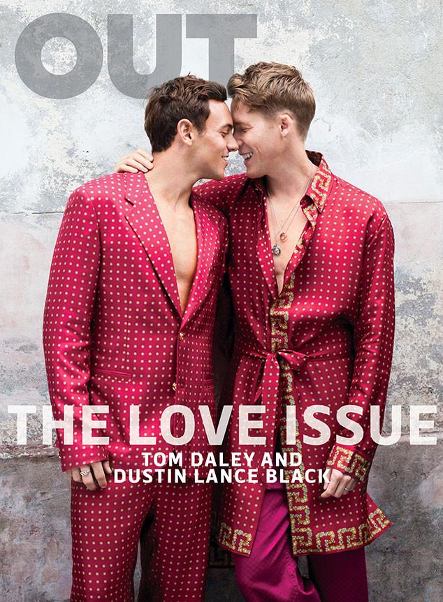 Tom Daley, Dustin Lance Black