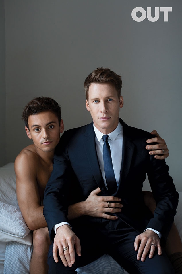 Tom Daley, Dustin Lance Black, Out