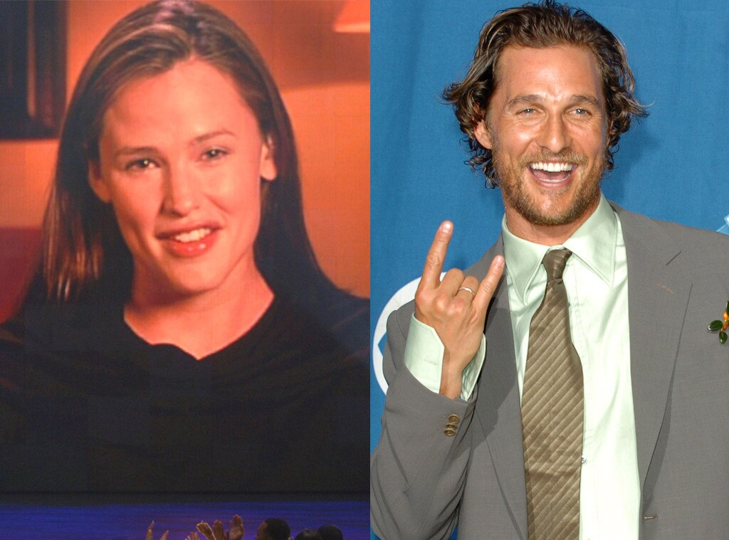 Jennifer Garner, Matthew McConaughey, 2006 Peoples Choice Awards