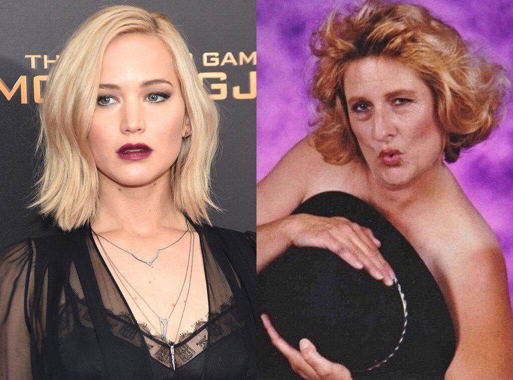 Jennifer Lawrence Glamour Shots