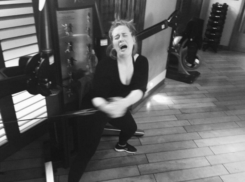 Adele, Instagram