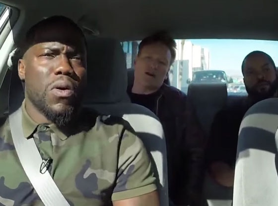 Conan O'Brien, Ice Cube, Kevin Hart