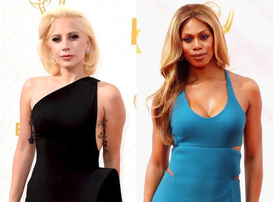 Laverne Cox, Lady Gaga, Emmy Awards 2015