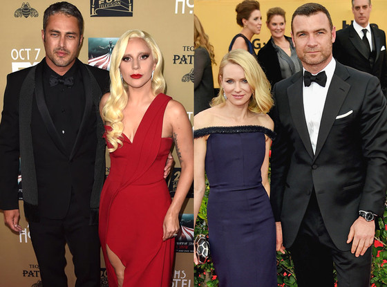 Naomi Watts, Liev Schreiber, Taylor Kinney, Lady Gaga