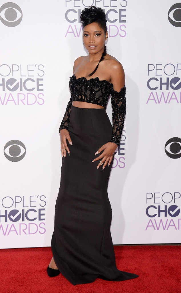 KeKe Palmer from 2016 People's Choice Awards Red Carpet ...