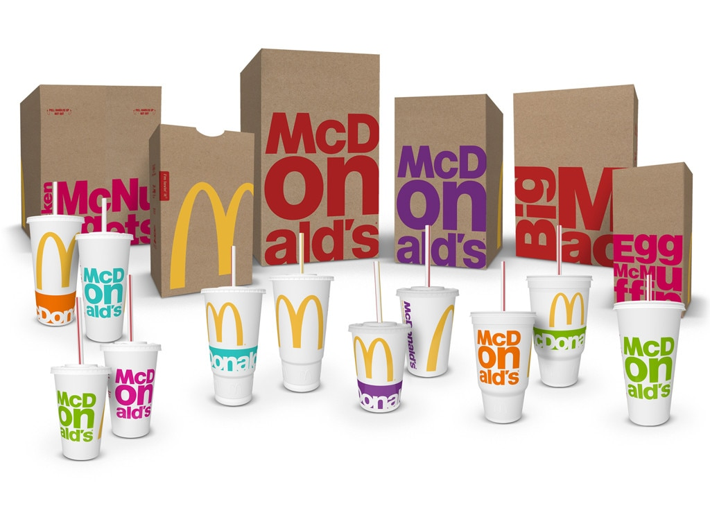 McDonald's New Packaging